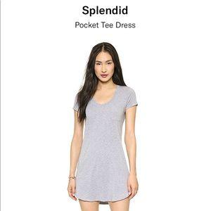 SPLENDID Stretch jersey mini dress